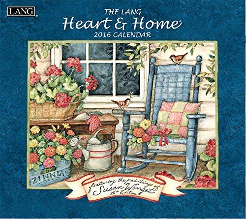 9780741251107: Heart & Home 2016 Calendar