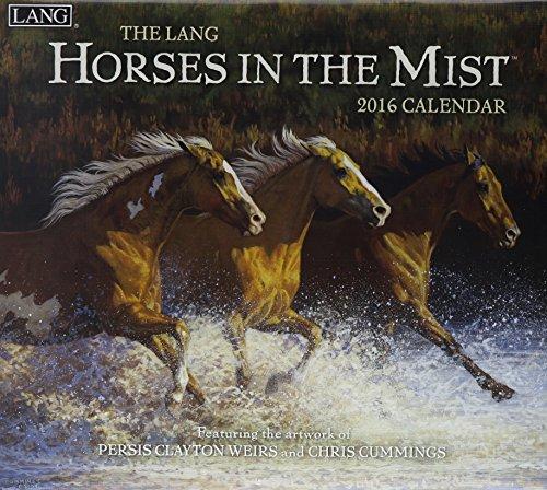 9780741251145: Horses in the Mist 2016 Calendar