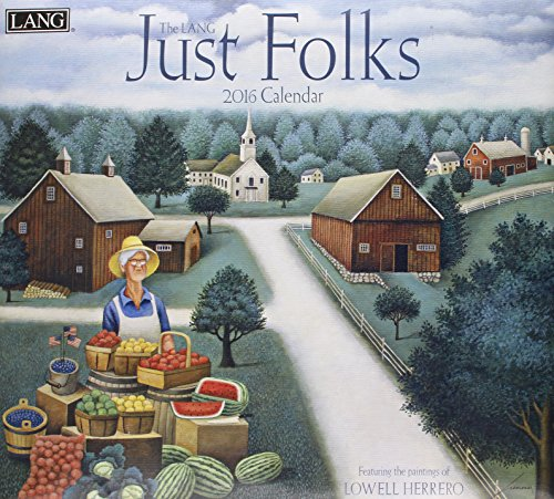 9780741251183: Just Folks 2016 Calendar