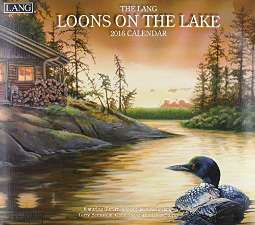 9780741251220: The Lang Loons on the Lake 2016 Calendar