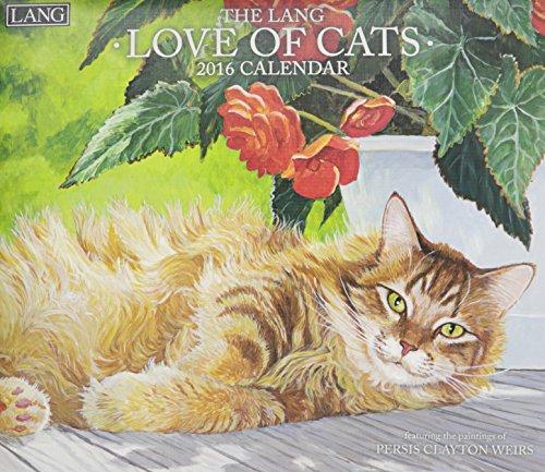 9780741251237: Love of Cats 2016 Calendar