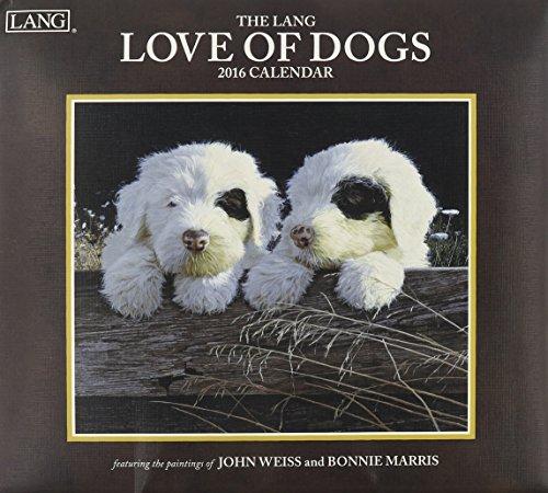 9780741251244: Love of Dogs 2016 Calendar