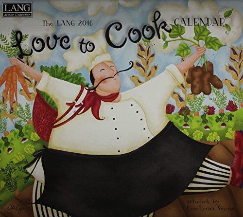 9780741251251: Love to Cook 2016 Calendar