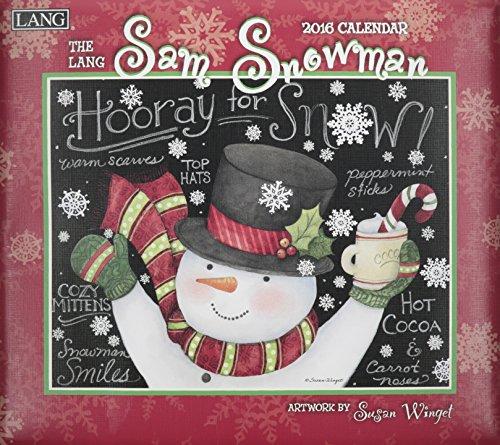 9780741251367: The Lang Sam Snowman 2016 Calendar
