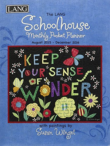 9780741251466: Schoolhouse 2016 Monthly Pocket Planner