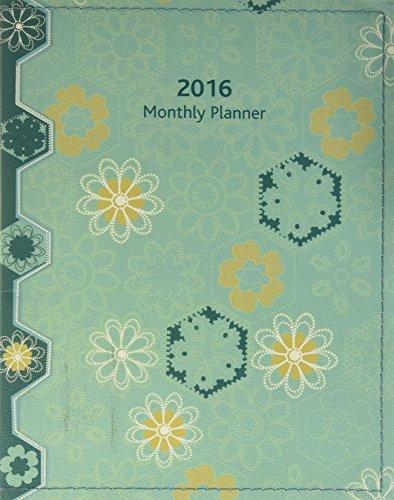 9780741251510: Pinwheels August 2015 - December 2016 Monthly Planner