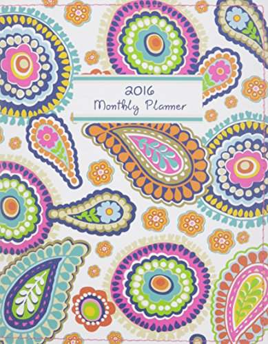 9780741251534: Pop Paisley 2016 Monthly Planner