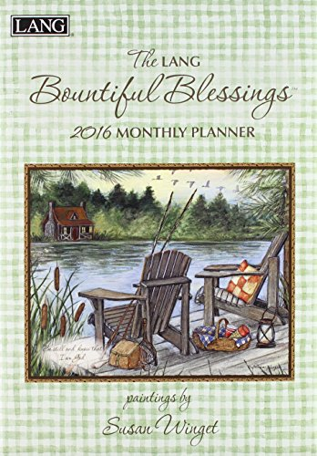 9780741251787: The Lang Bountiful Blessings 2016 Monthly Planner