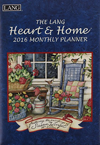 9780741251800: Heart & Home 2016 Monthly Planner