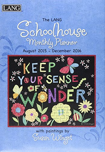 9780741251848: Schoolhouse 2016 Monthly Planner