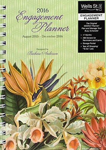 9780741252753: Botanical Gardens 2016 Planner