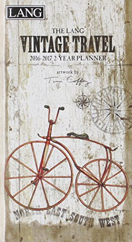 9780741252937: Vintage Travel 2016-2017 Two Year Planner
