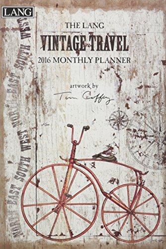 9780741252999: Vintage Travel 2016 Monthly Planner