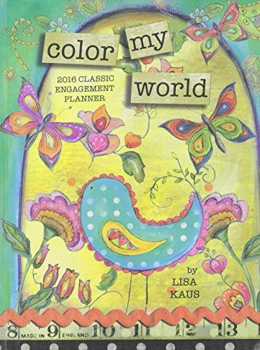 9780741253170: Color My World 2016 Classic Planner