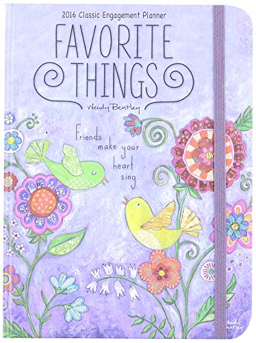 9780741253194: Favorite Things 2016 Classic Engagement Planner