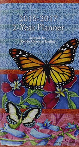 9780741253316: Butterflies 2016-2017 Two Year Planner
