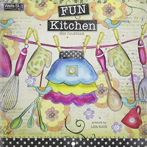 9780741253507: Fun Kitchen 2016 Calendar