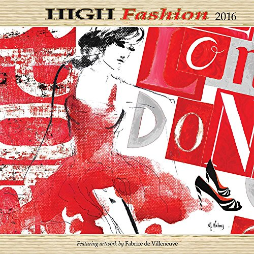9780741253514: High Fashion 2016 Calendar
