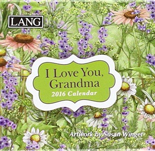 9780741253637: I Love You Grandma 2016 Calendar