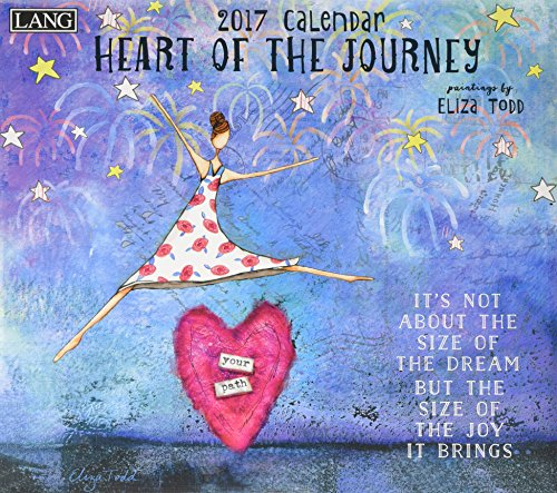 9780741255860: Heart of the Journey Dlx W 2017 Calendar (Deluxe Wall)