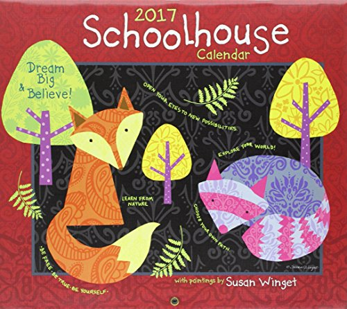 9780741256133: Schoolhouse Dlx W 2017 (Deluxe Wall)