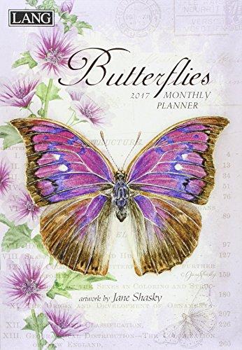 9780741256898: Butterflies 2017 Monthly Planner