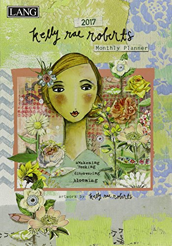 9780741256911: Kelly Rae Roberts 2017 Monthly Planner