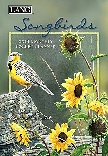 Songbirds 2018 Monthly Pocket Planner