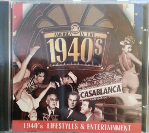 9780741300676: America in the 1940's: 1940's Lifestyles and Entertainment