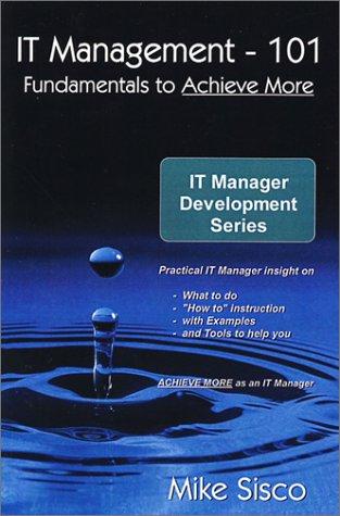 9780741411914: IT Management - 101