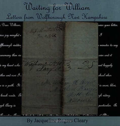 9780741421142: Waiting for William: Letters from Wolfborough, New Hampshire