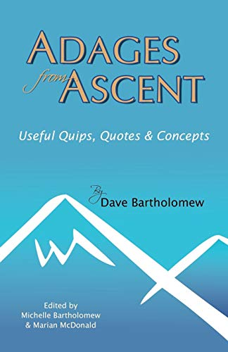 9780741449160: Adages from Ascent