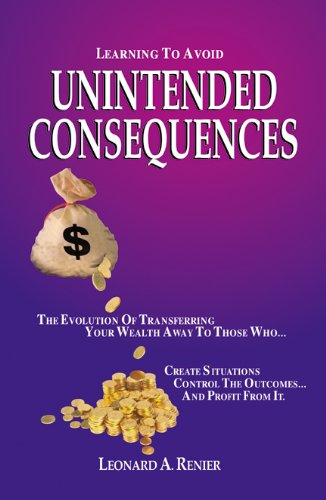 9780741464965: Learning to Avoid Unintended Consequences- Hardcover