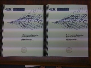 9780742327566: CIW E-Commerce Specialist Academic Student Guide - Volumes 1 and 2 - Web Design Series ECL05-CDEDS2-PR-1012 - VERSION 1.0