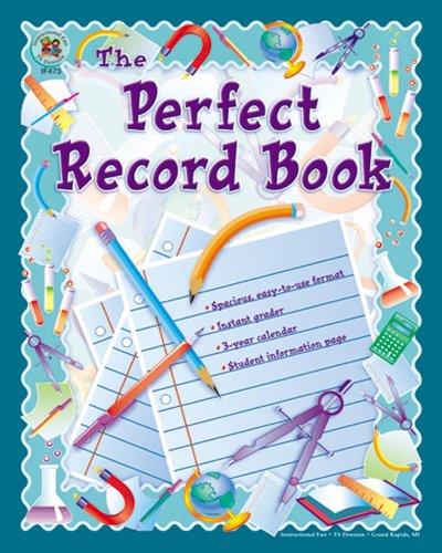 Carson Dellosa Instructional Fair The Perfect Record Book Record/Plan Book (074240028X): ...