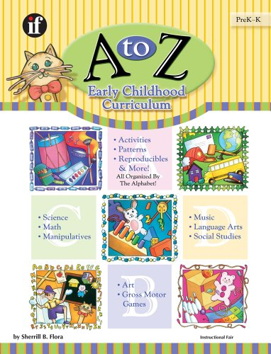9780742401402: A to Z Early Childhood Curriculum: Activities Patterns Reproducibles and More