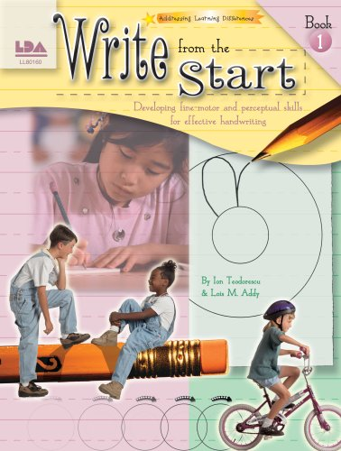 9780742401600: Write from the Start: Developing Fine-Motor and Perceputual Skills for Effective Handwriting, Book I