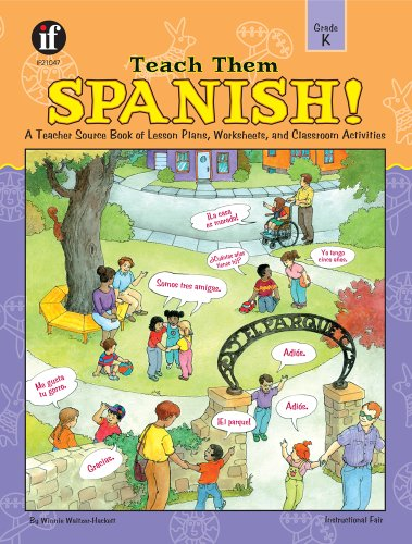 9780742401952: Teach Them Spanish!, Grade K