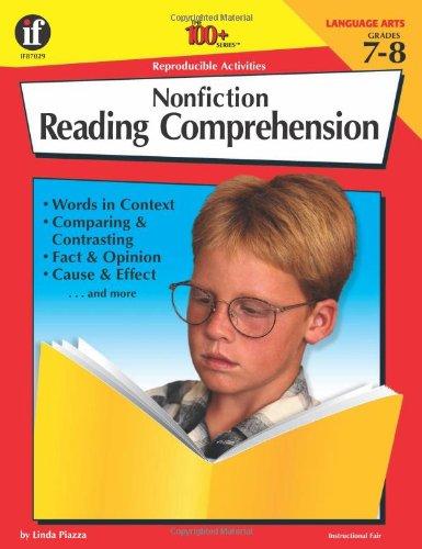 9780742402218: The 100+ Series Nonfiction Reading Comprehension, Grades 7-8