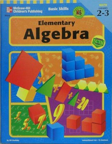 9780742402379: Basic Skills Series: Elementary Algebra, Grades 2 to 3 (Basic Skills (Instructional Fair))