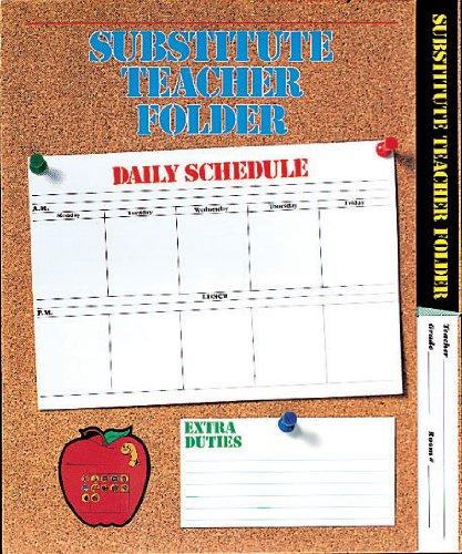9780742406131: Elementary Substitute Teacher Folder