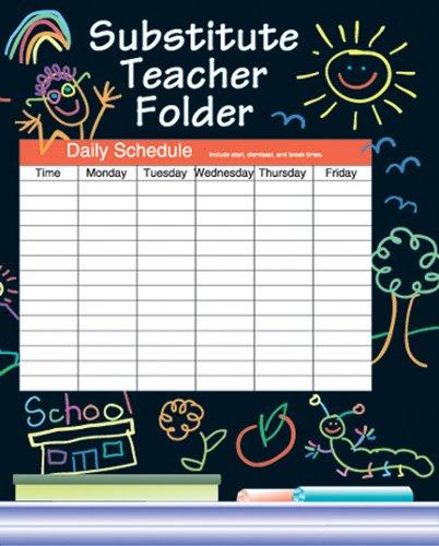 9780742406193: Elementary Substitute Teacher Folder