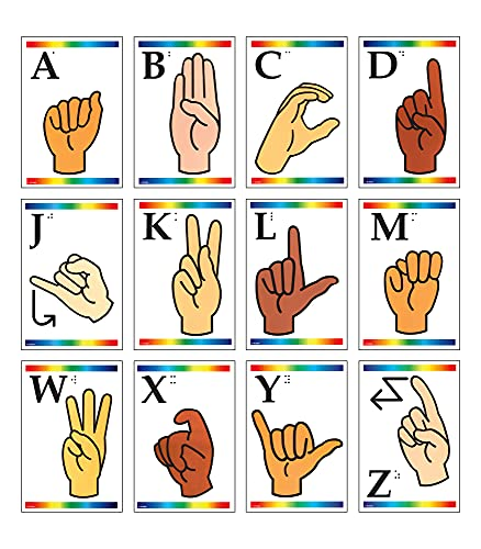 9780742406254: Sign Language Learning Cards with Braille