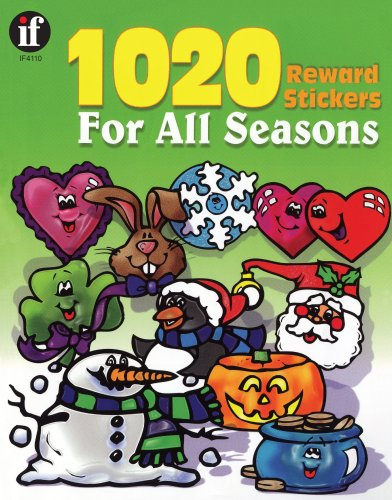 9780742409637: 1020 Reward Stickers For All Seasons, Grades PK - 6