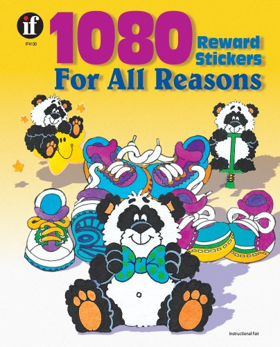 9780742409651: 1080 Reward Stickers For All Reasons, Grades 1 - 6