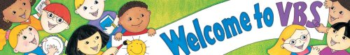 9780742410909: Welcome to VBS Banner (Christian Banner)