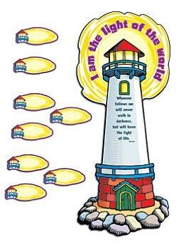 9780742414136: Lighthouse Bulletin Board Set
