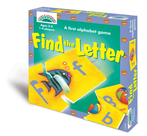 9780742415058: Find The Letter: A First Alphabet Game