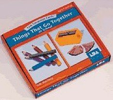 9780742416055: Things That Go Together: At School Language Cards (Lda Language Cards) (Spanish, English, French and German Edition)