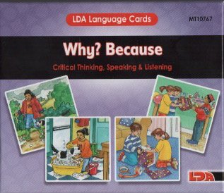 9780742416109: Why / Because Language Cards (Lda Language Cards) (Spanish, English, French and German Edition)